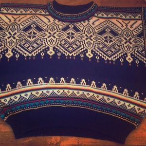 Dale of Norway wool pullover sweater